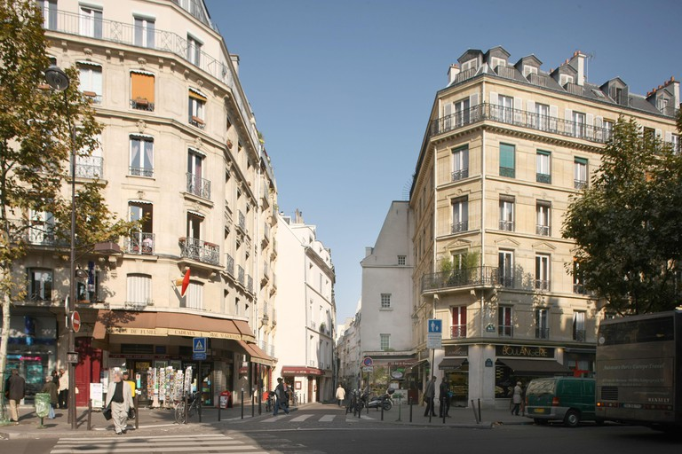 Boulevard Saint Germain, Paris.