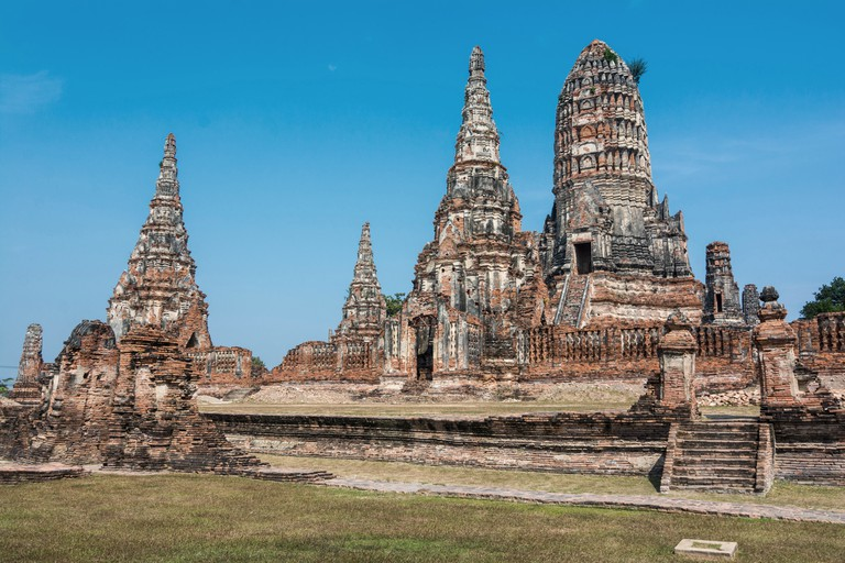 Wat Chaiwatthanaram is a Buddhist temple in the city of Ayutthaya, Thailand.