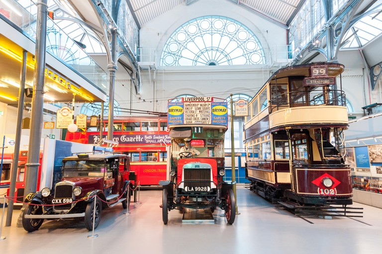 The London Transport Museum, England.