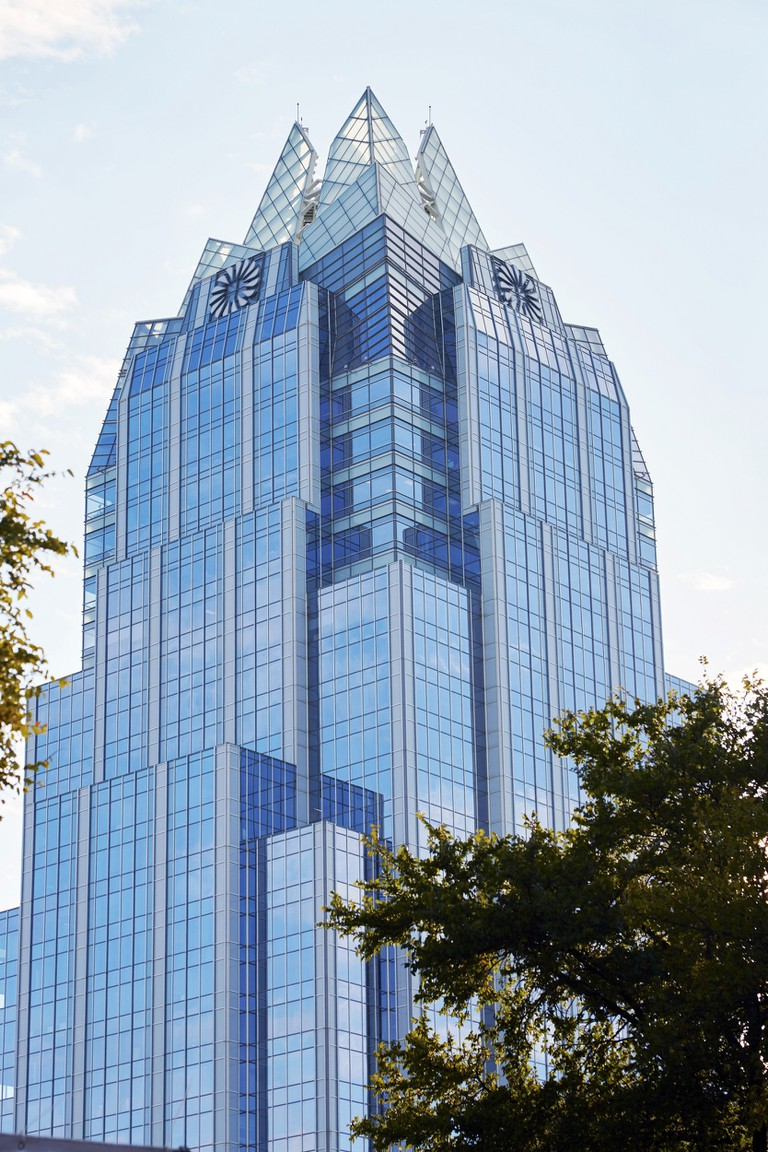 Frost Bank Tower is sometimes better known as 'the Owl Building'