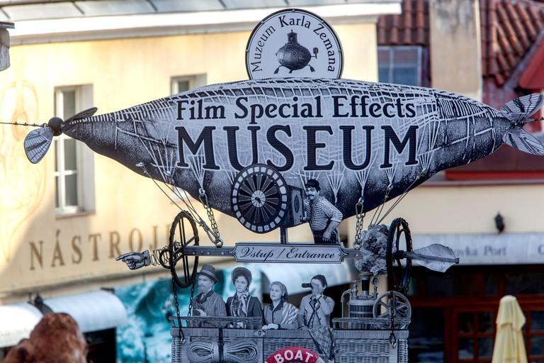 Museum of Karel Zeman, film and movie special effects Kampa, Prague
