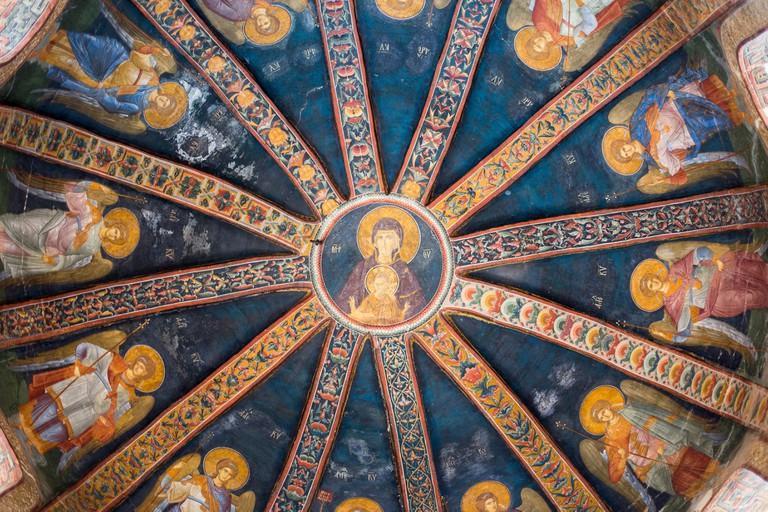 The Church of the Holy Saviour in Chora, Kariye Muzesi, the Chora Museum