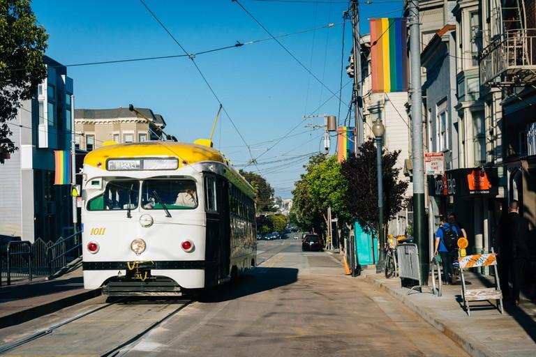 17th Street in The Castro, San Francisco.