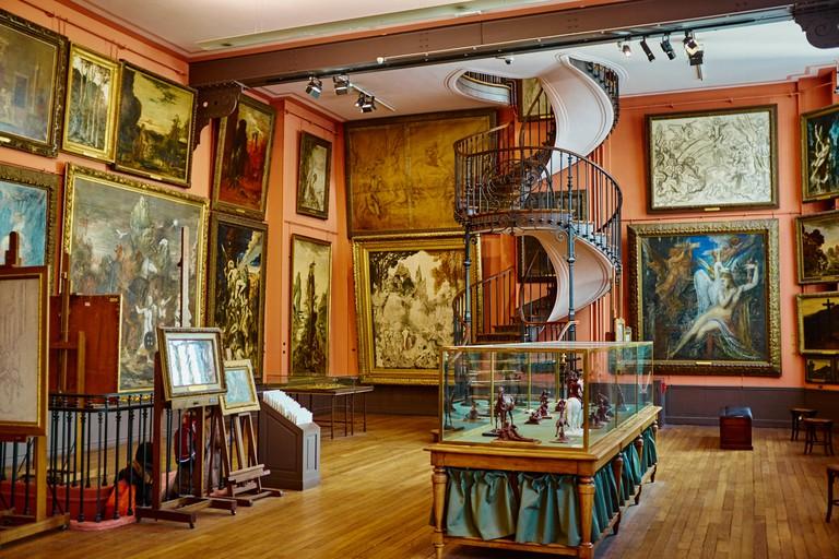 Gustave Moreau museum, Paris