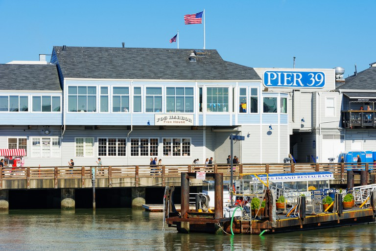 Pier 39, Fishermans Wharf, San Francisco.
