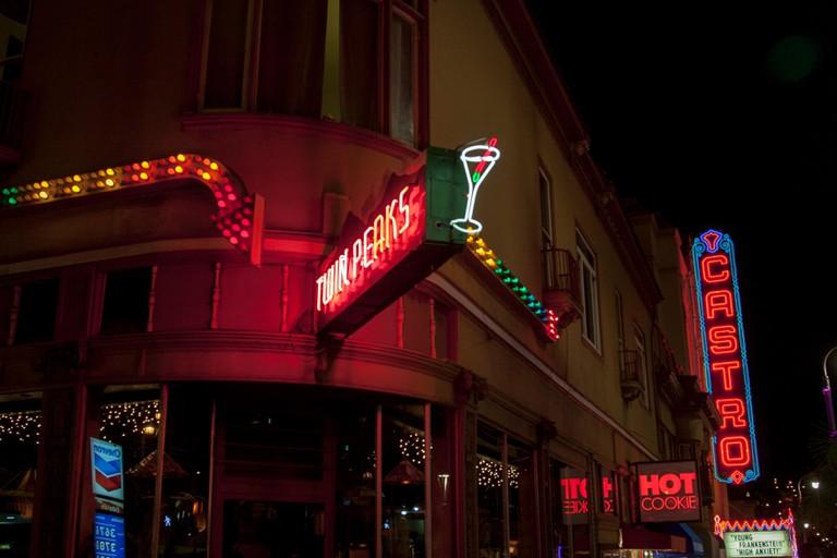 Twin Peaks bar in Castro, San Francisco.