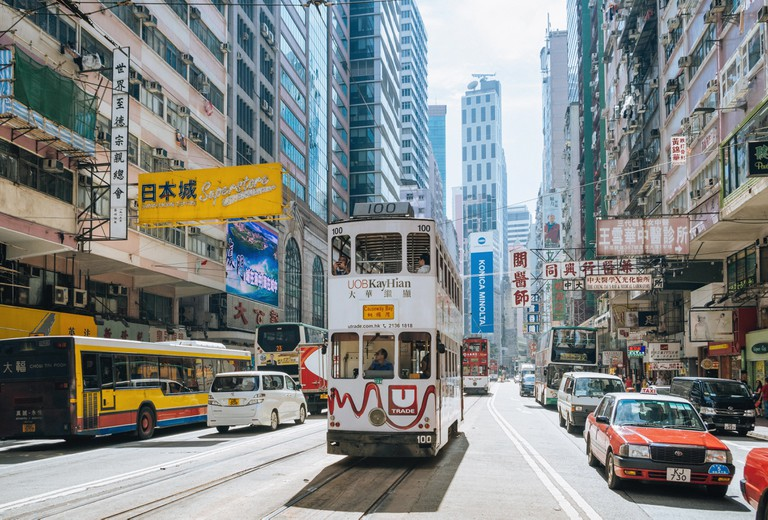 Wan Chai is full of hotels and cultural centres