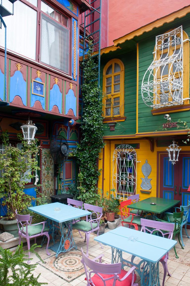 Istanbul, Sultanahmet, Kybele Hotel, Yerebatan Caddesi 35