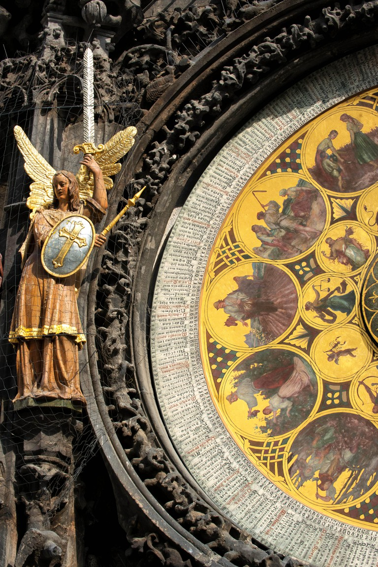 Astronomical Clock,Old Town Hall,Prague, Czech Repoblic