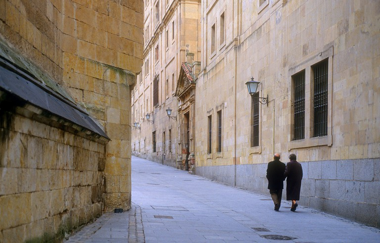 Compania street, Salamanca, Spain