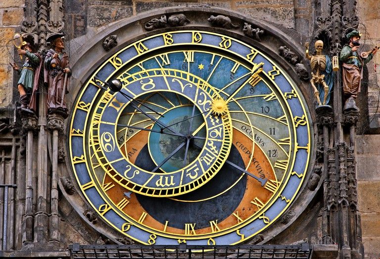 The Astronomical Clock, Old Town Square, Prague.