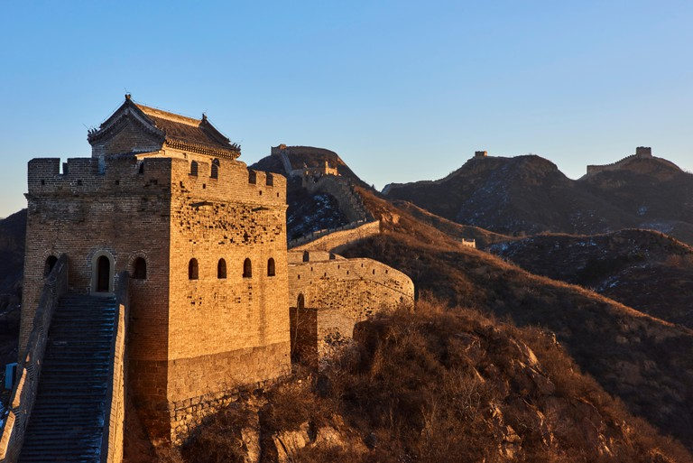 Great Wall of China, Unesco World Heritage.