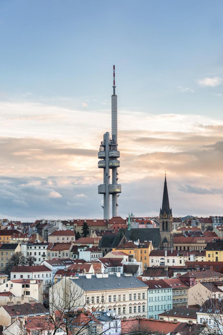 Žižkov TV Tower, Prague