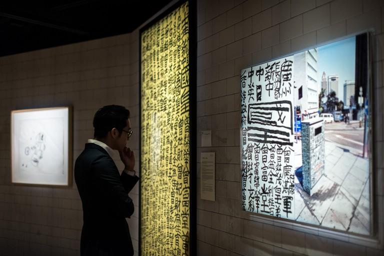 HONG KONG-CHINA-ART-ECONOMY-SOTHEBYS