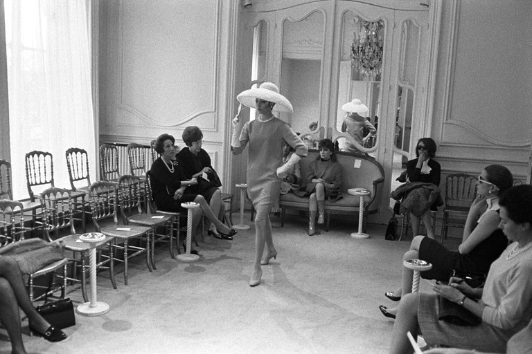 Gina Lollobrigida at Givenchy's