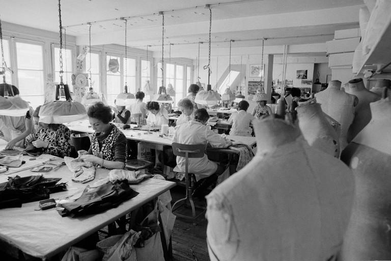 Atelier Chanel en 1975
