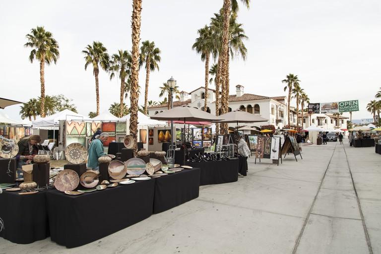 La Quinta Arts Festival in Old Town La Quinta