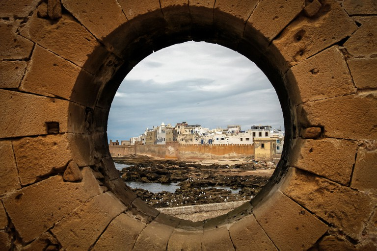 Beautiful old port City of Essaouira, in Morocco, North Africa.