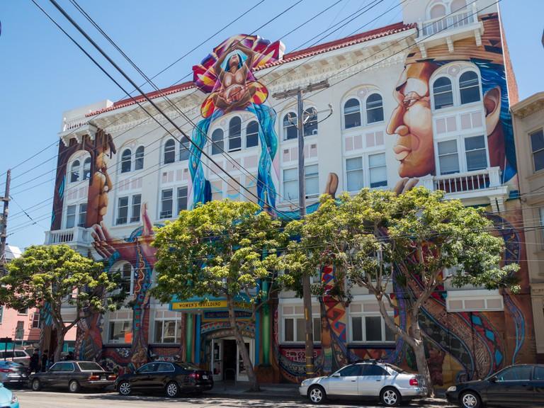 Women House building, Mission District, San Francisco