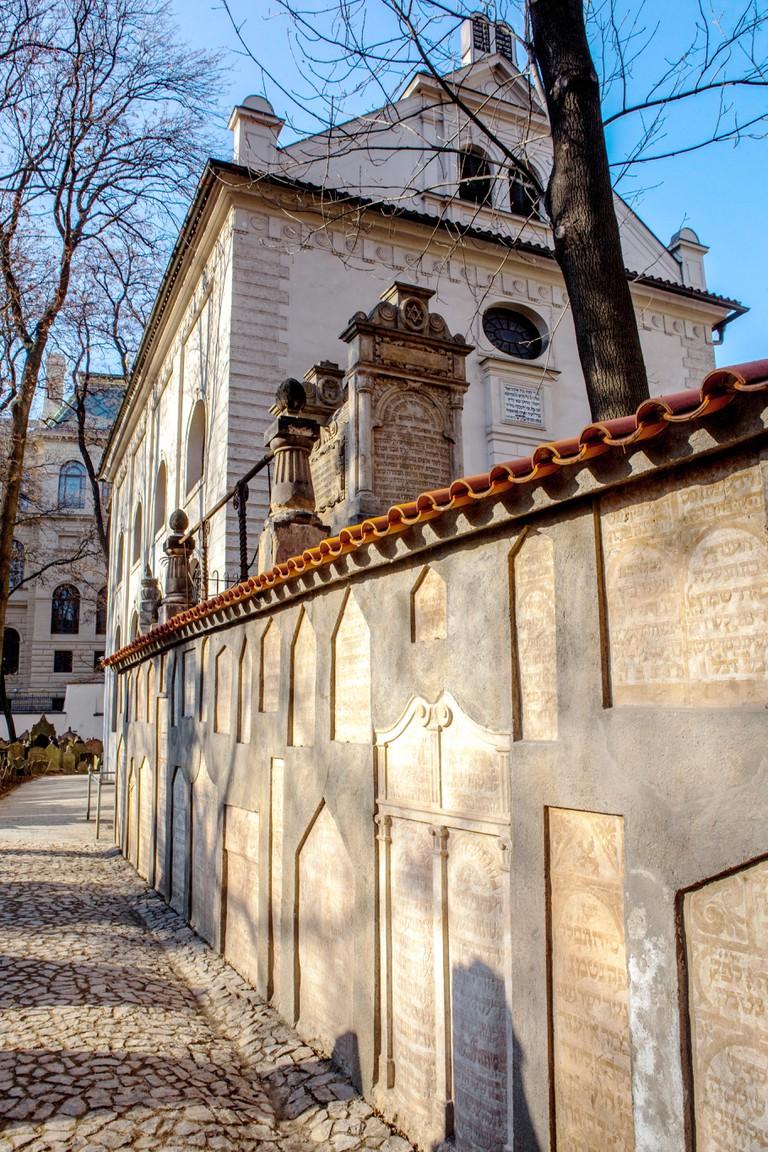 Klausen Synagogue, Prague Jewish Cemetery Josefov, Czech Republic, Europe