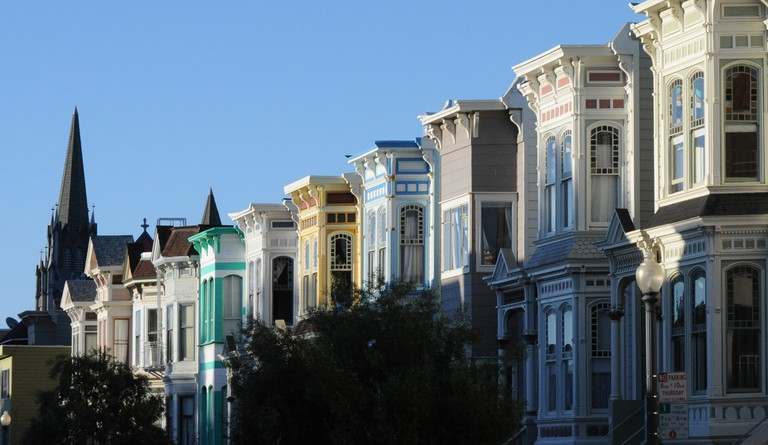 Edwardian Houses in Mission District