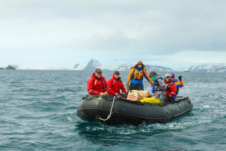 Eco-tourism in Antarctica