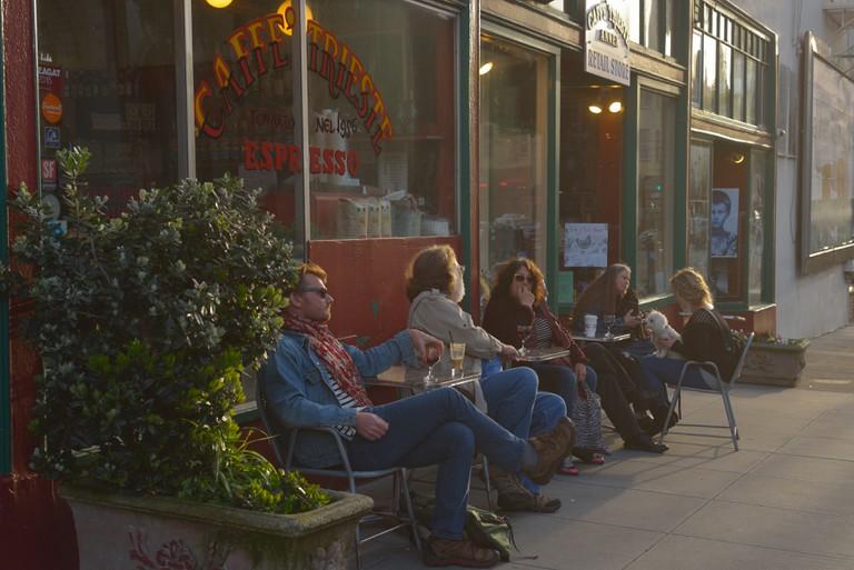 Caffe Trieste in North Beach, San Francisco CA
