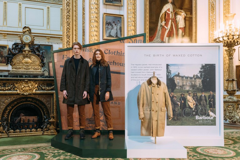 Barbour's presentation took place at Lancaster House in Central London
