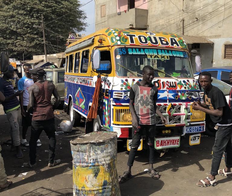 Gare Lat Dior Car Rapides Dakar