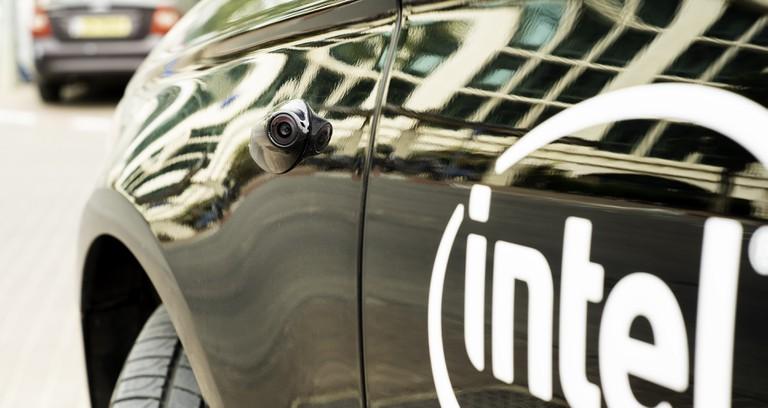 The Intel Mobileye autonomous car