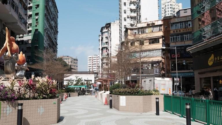 Civic Triangle, Mongkok, Hong Kong.