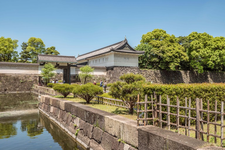 Walking around the Imperial Palace Gardens is a great way to spend an afternoon