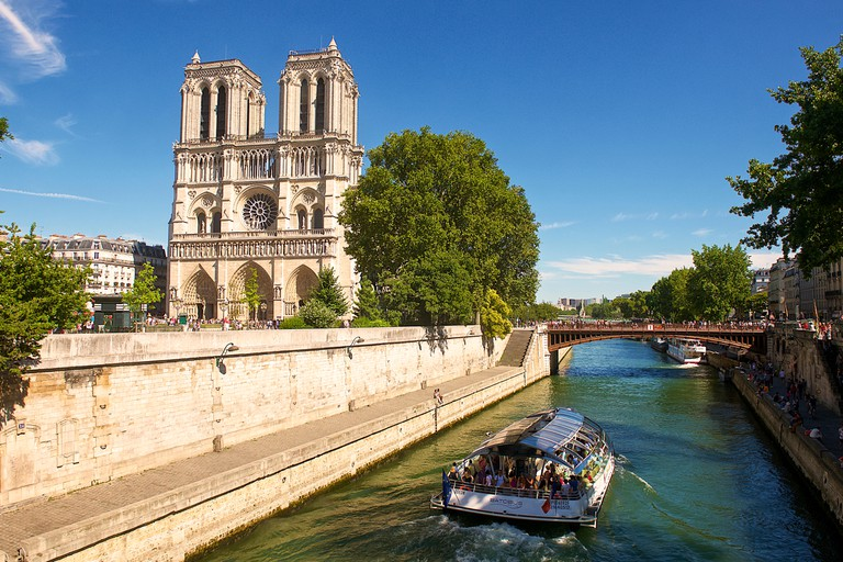 Notre Dame Cathedral, Paris, France.