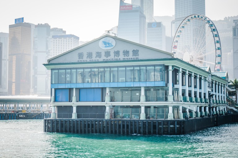 Hong Kong Martime Museum is a must for history buffs