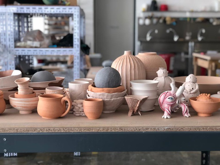 Lump Studio offers pottery-making classes