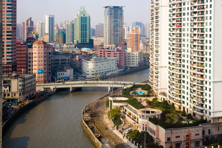 Suzhou Creek, Shanghai, China.