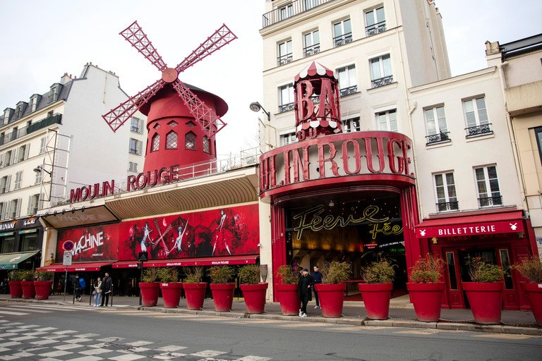 The Moulin Rouge was the first building in Paris to have electricity