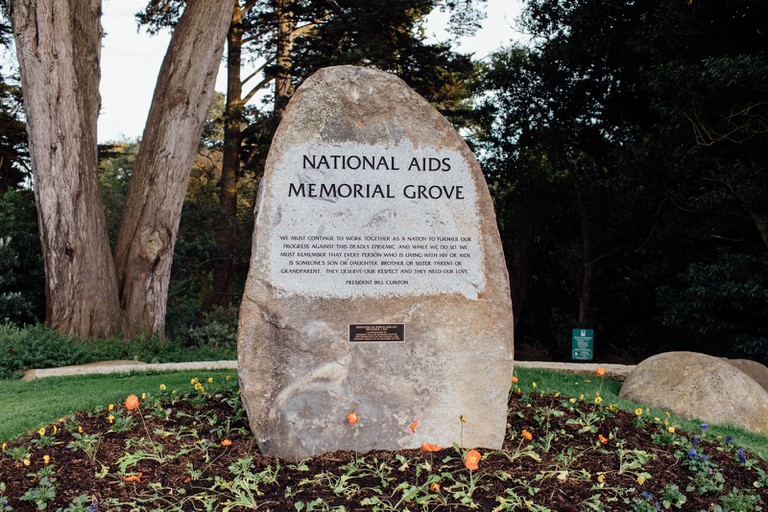 AIDS-MEMORIAL-SAN FRANCISCO-CALIFORNIA-USA