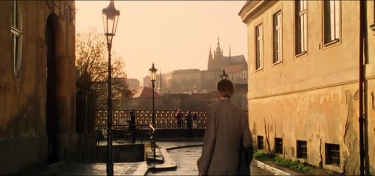 A scene from Mission Impossible shot in Platnéřská, Prague
