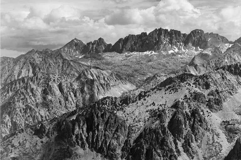 Ansel Adams, 'North Palisade from Windy Point', 1936