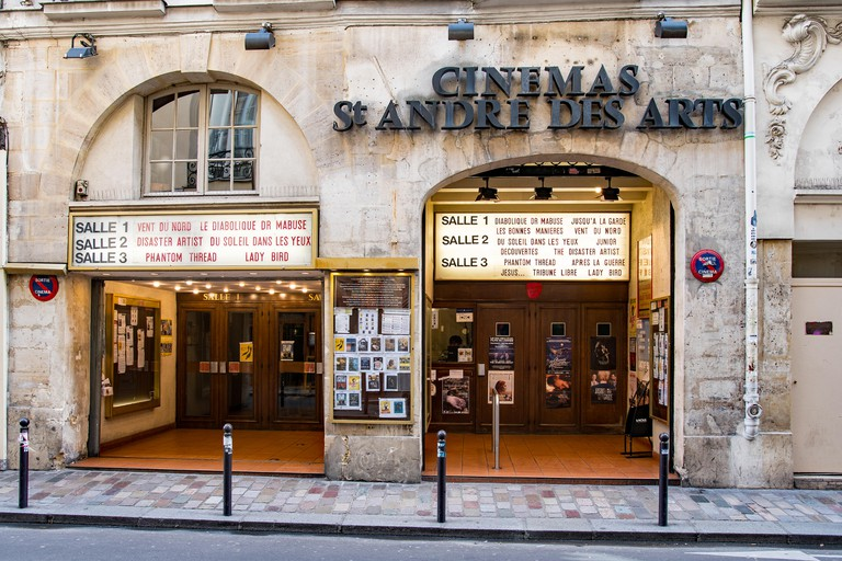 Cinema Saint-André-des-Arts, Paris