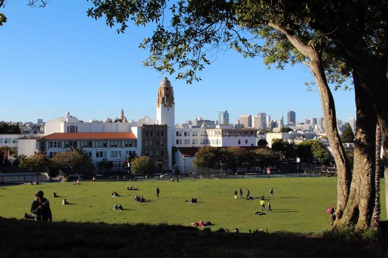 Mission Dolores Park, San Francisco.