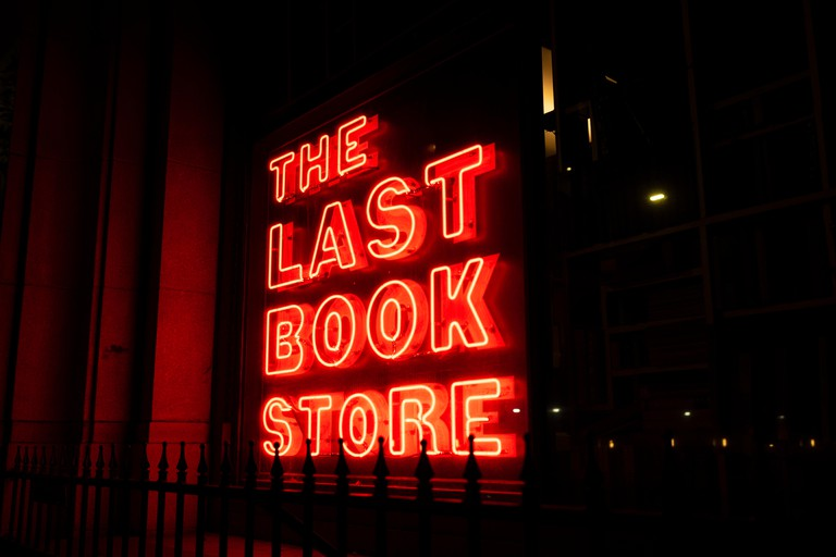The Last Bookstore, is an independently owned bookstore in Los Angeles.