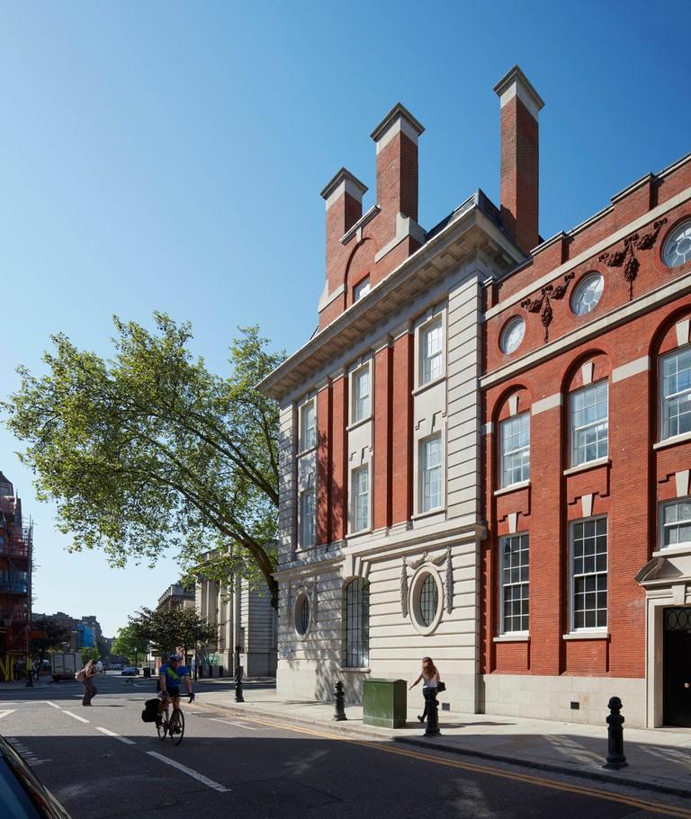 224 - 226 Kings Road, London, United Kingdom. Architect: Horden Cherry Lee Architects Ltd, 2018.