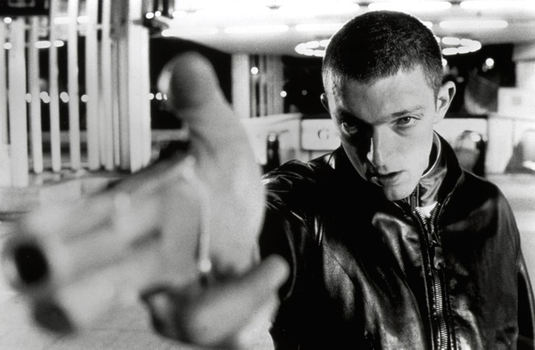Editorial use only. No book cover usage. Mandatory Credit: Photo by Moviestore/REX/Shutterstock (1589725a) La Haine,  Vincent Cassel Film and Television