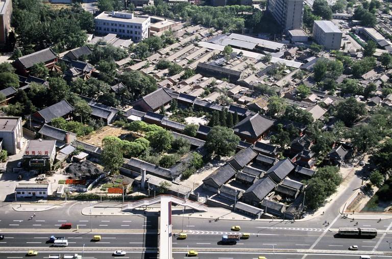 Wanshou Temple, Beijing, China.