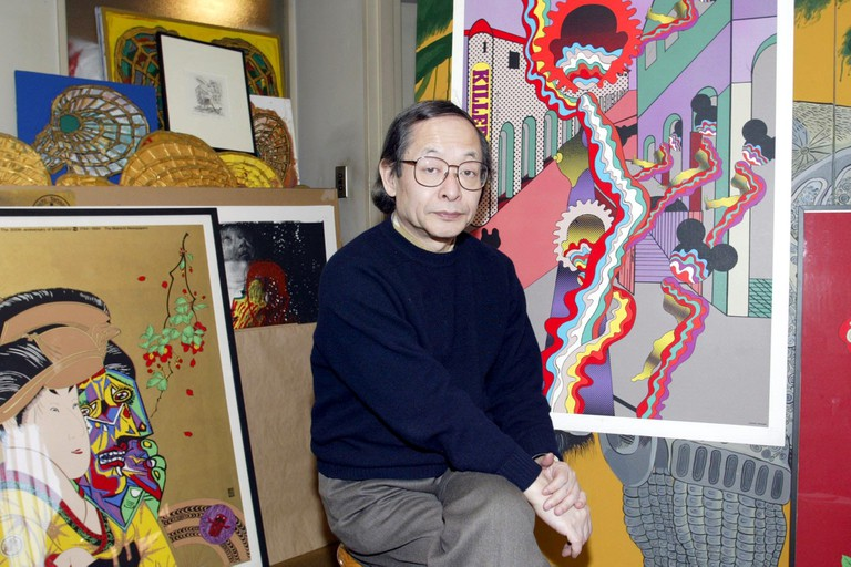 KEIICHI TANAAMI, GRAPHIC ARTIST WHO CLAIMS HIS WORK HAS BEEN COPIED BY FASHION DESIGNERS CLEMENTS RIBEIRO
