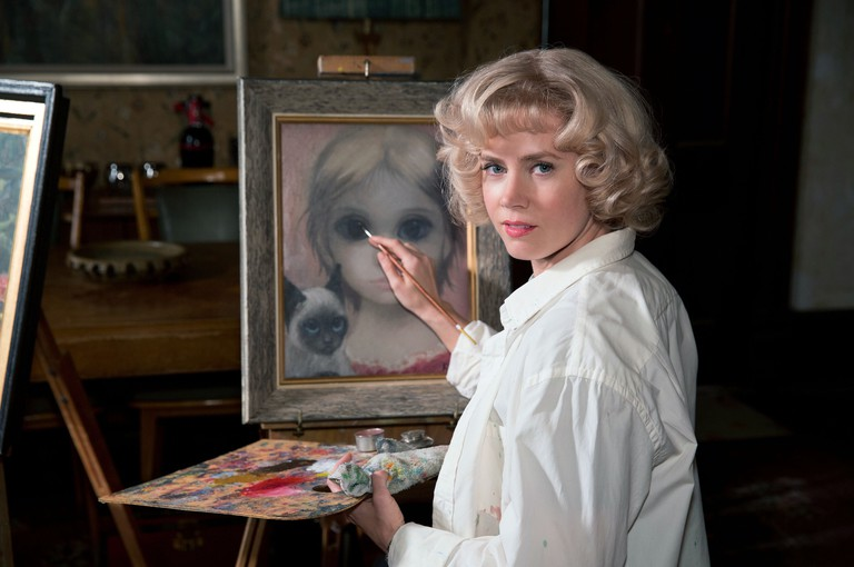 Amy Adams plays Margaret Keane in Tim Burton's 'Big Eyes'