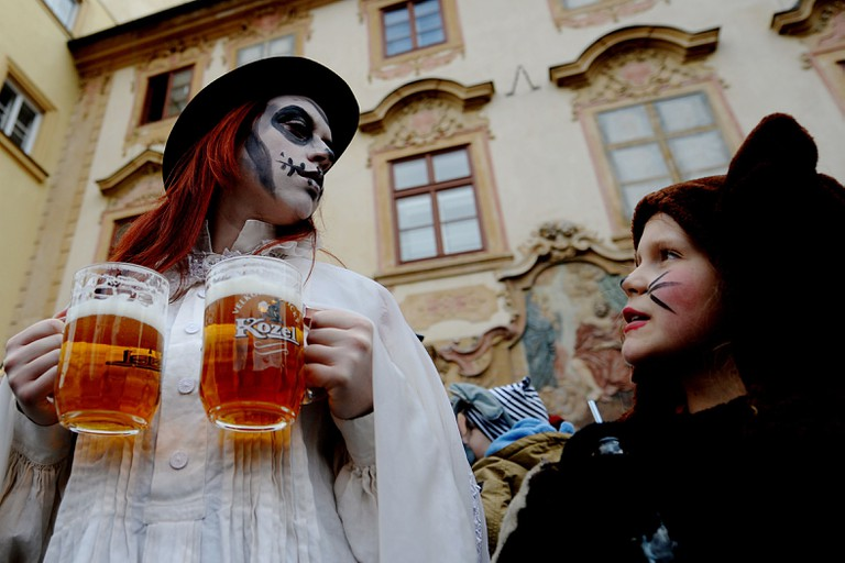 Czech Republic Prague Carnival - Mar 2014