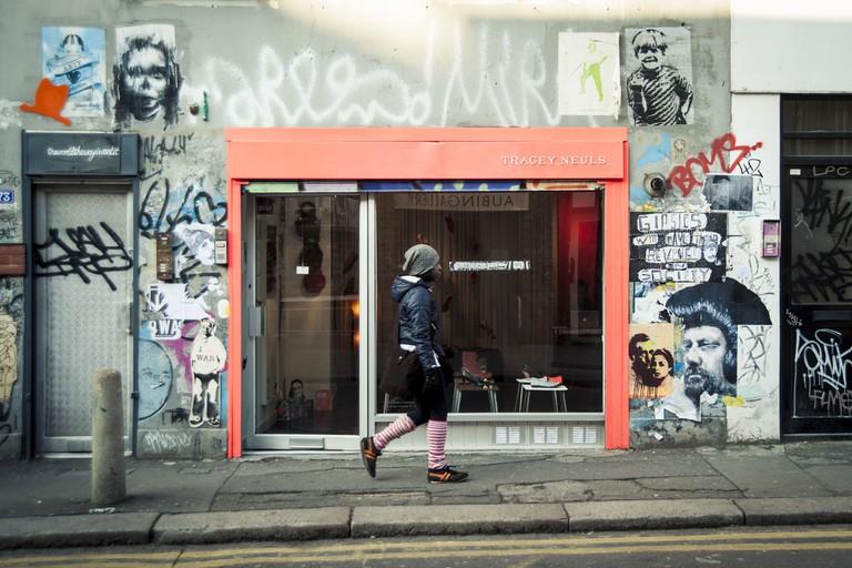 Redchurch Street, East London, London, UK, 11/02/2012